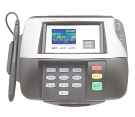 signature payment pinpad