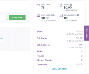 clover employee dashboard